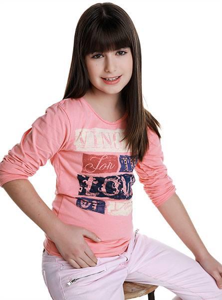 Από την Πρέβεζα στο Μόναχο: H 9χρονη Xριστίνα μοντέλο στη Γερμανία