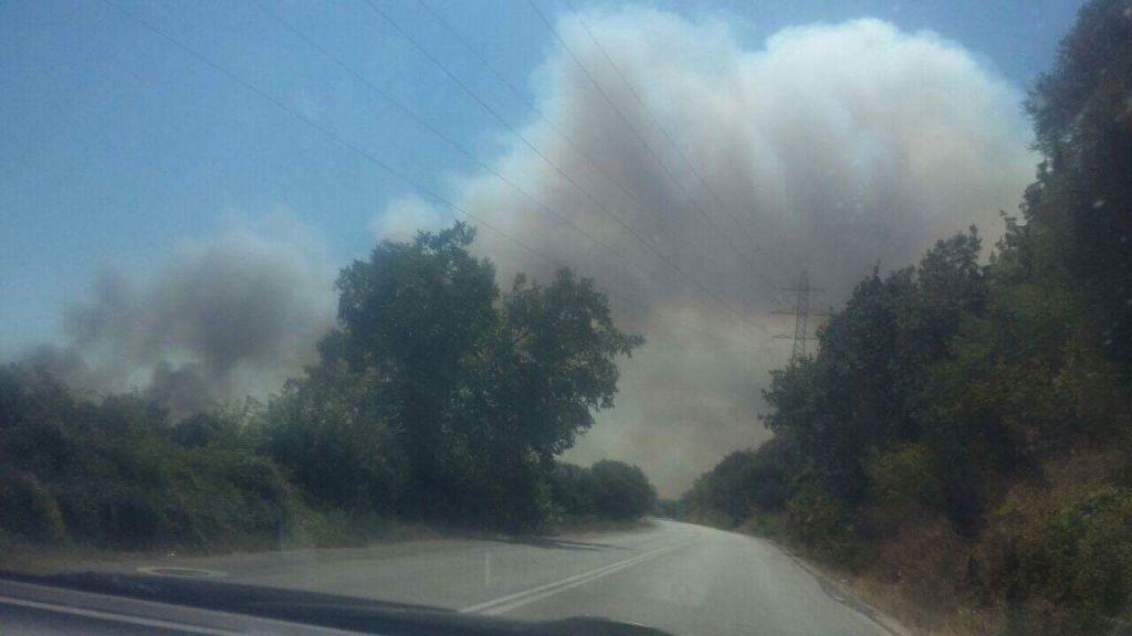 Πρέβεζα: Ανεξέλεγκτη η φωτιά που ξέσπασε στη Πέτρα – Πλησιάζει το Λούρο