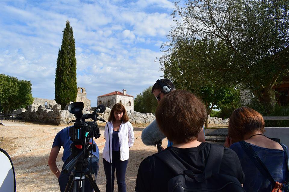 Πρέβεζα: Τηλεοπτικό συνεργείο από την Ιαπωνία πραγματοποίησε γυρίσματα στο Νεκρομαντείο