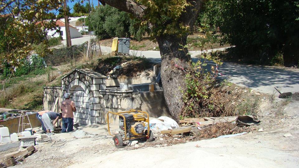 Πρέβεζα: Η πέτρινη βρύση στο Δημοτικό Διαμέρισμα Βράχου θα τρέξει και πάλι νερό