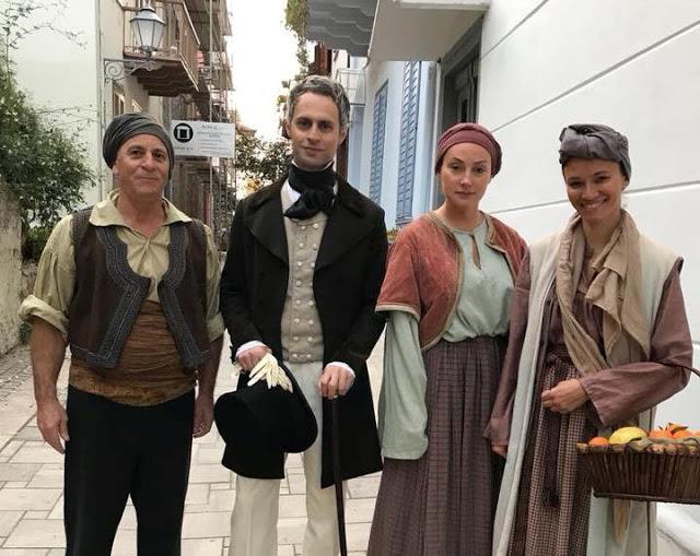 Πρέβεζα: Ο Ρώσος ηθοποιός που υποδύεται στον Ι.Καποδίστρια στα γυρίσματα του ντοκιμαντέρ που θα πραγματοποιηθούν στην Πρέβεζα