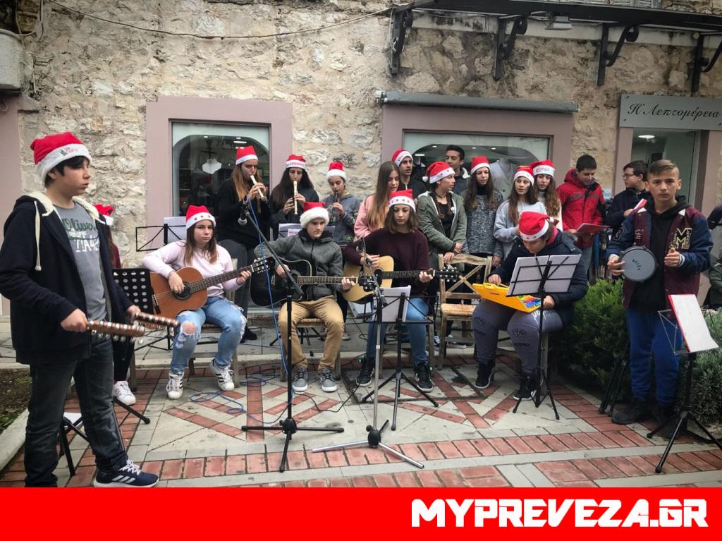 Πρέβεζα: Χριστουγεννιάτικη η ατμόσφαιρα στο Ιστορικό Κέντρο της Πρέβεζας