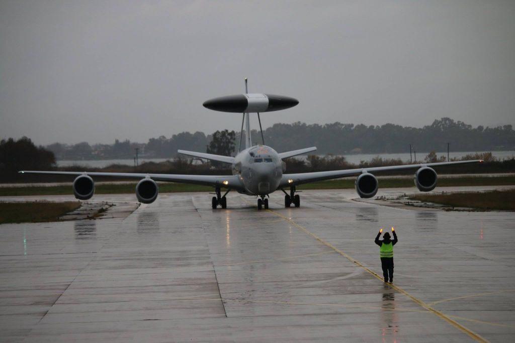 Προσγειώθηκε για πρώτη φορά στη Αεροπορική Βάση του Ακτίου το E-3F Awacs