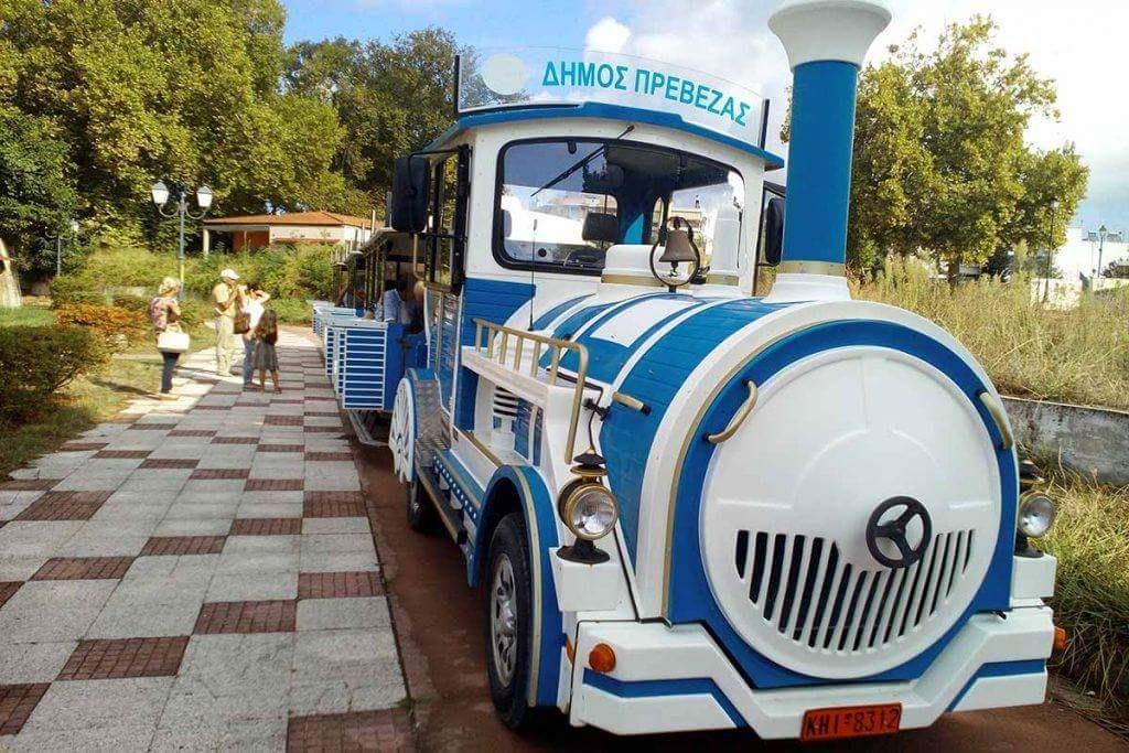 Πρέβεζα: Ξεκινά τις διαδρομές του το τραίνο πόλης από τον Δήμο της Πρέβεζας
