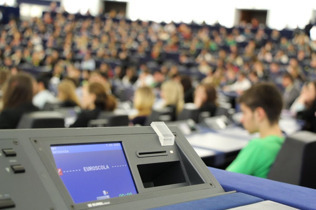 Μια μαθήτρια από το 1ο ΓΕΛ Πρέβεζας στο Ευρωπαϊκό Κοινοβούλιο στο Στρασβούργο