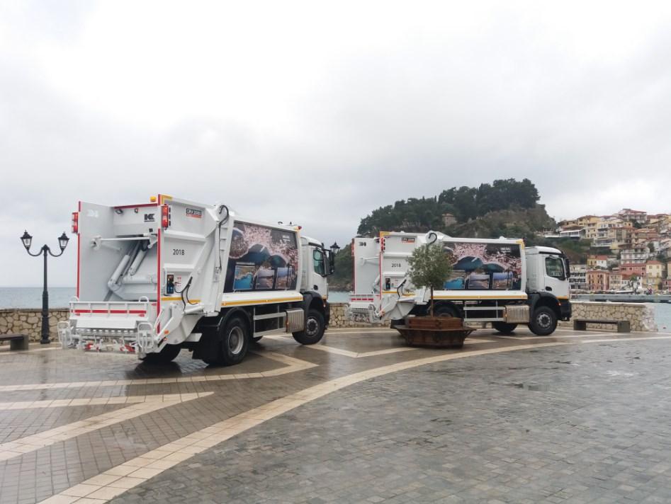 Πρέβεζα: ΠΑΡΓΑ - Αναβαθμίζεται η καθαριότητα με δύο νέα απορριματοφόρα