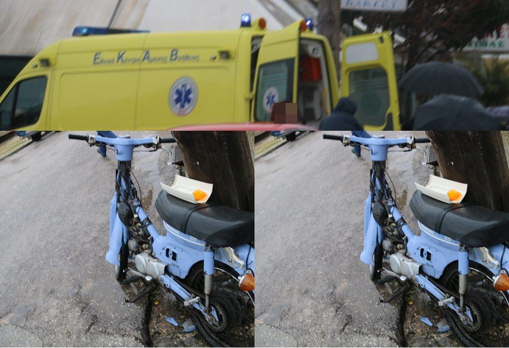 Πρέβεζα: Τροχαίο ατύχημα με τραυματισμό δικυκλιστή