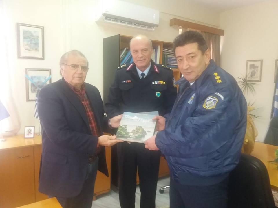 Πρέβεζα: Τον Δήμαρχο Πάργας επισκέφθηκε ο Νέος Αστυνομικός Διευθυντής Πρεβεζας Παρις Νίκου