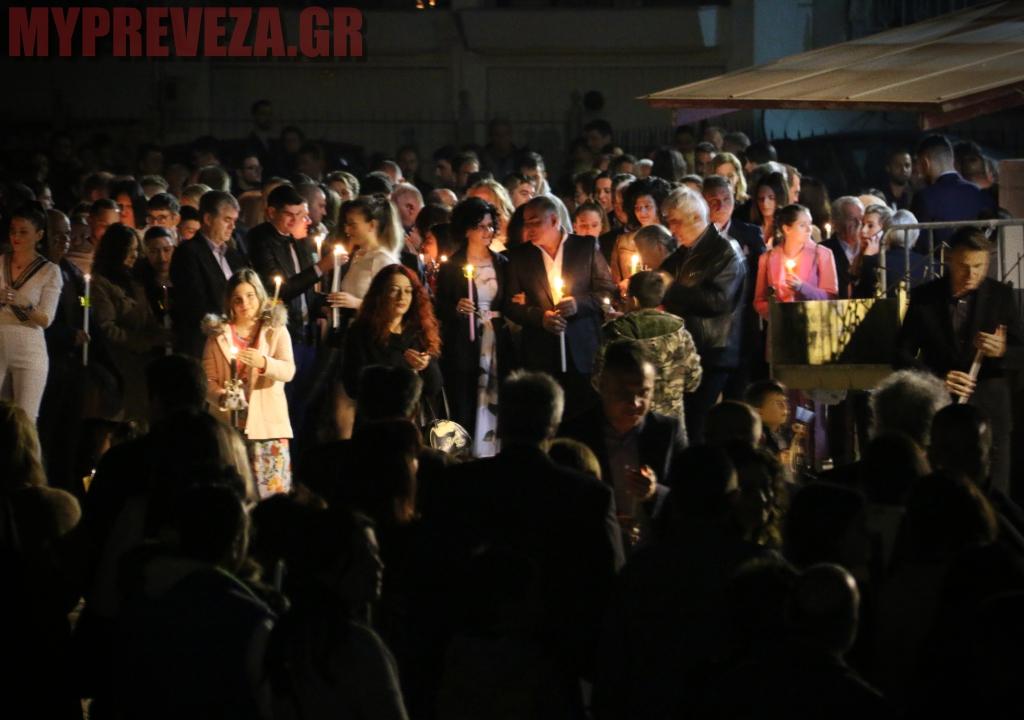 Χριστός Ανέστη : Με πυροτεχνήματα η Ανάσταση στον Άγιο Νεκτάριο Πρέβεζας