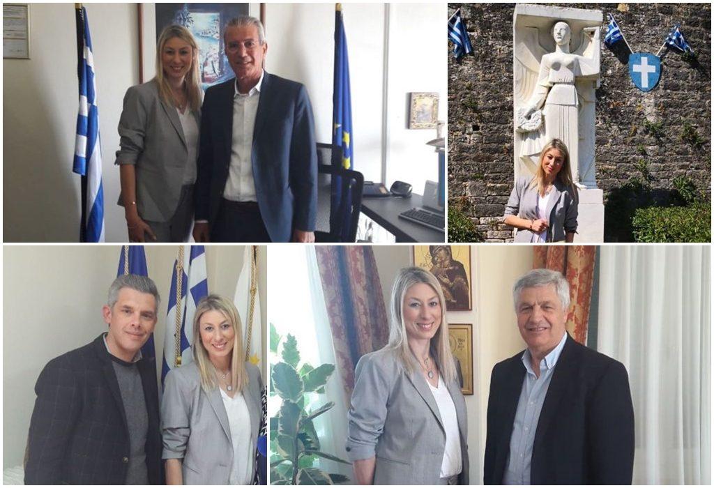 Πρέβεζα: Την Πρέβεζα επισκέφθηκε η υποψήφια Ευρωβουλευτής της Ένωσης Κεντρώων Κατερίνα Κούτρη