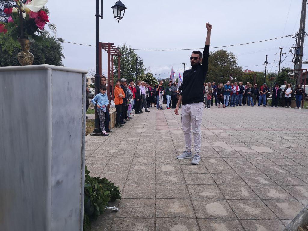 Η Πρωτομαγιάτικη απεργιακή συγκέντρωση των ταξικών συνδικάτων που συσπειρώνονται στο ΠΑΜΕ στην Πρέβεζα