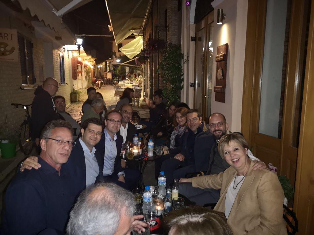 Πρέβεζα: Για μεζέ στο Τέξας και για ποτό στο Τσέρκι ο Αλέξης Τσίπρας