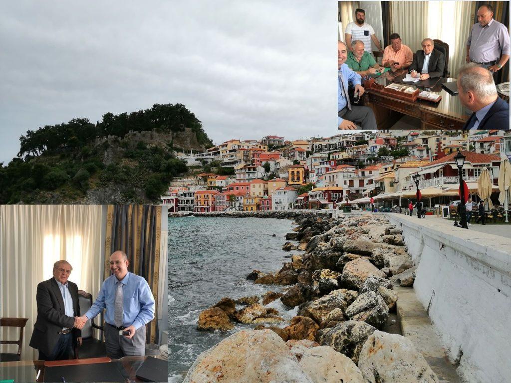 Πρέβεζα: Υπέγραψε την σύμβαση για ακόμα ένα μεγάλο έργο ο Δήμαρχος Πάργας Αντώνης Νάστας