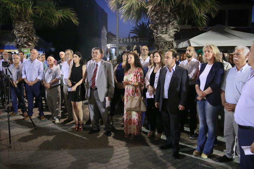 Μανώλης Χριστοδουλάκης από την Πρέβεζα : » Το Κίνημα Αλλαγής δεν θα συγκυβερνήσει με κανέναν το βράδυ της 7ης Ιουλίου»