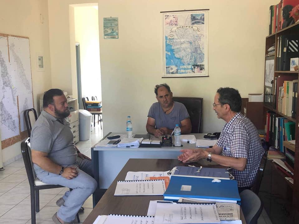 Άοκνος συνεχίσει τις συζητήσεις του με φορείς και πολίτες ο Υποψήφιος Βουλευτής Πρέβεζας Σπύρος Κυριάκης