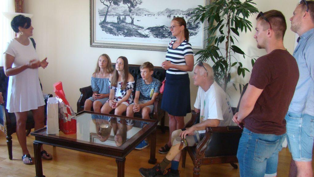 Πρέβεζα: Επίσκεψη Τσέχων στον Δήμαρχο Πρέβεζας