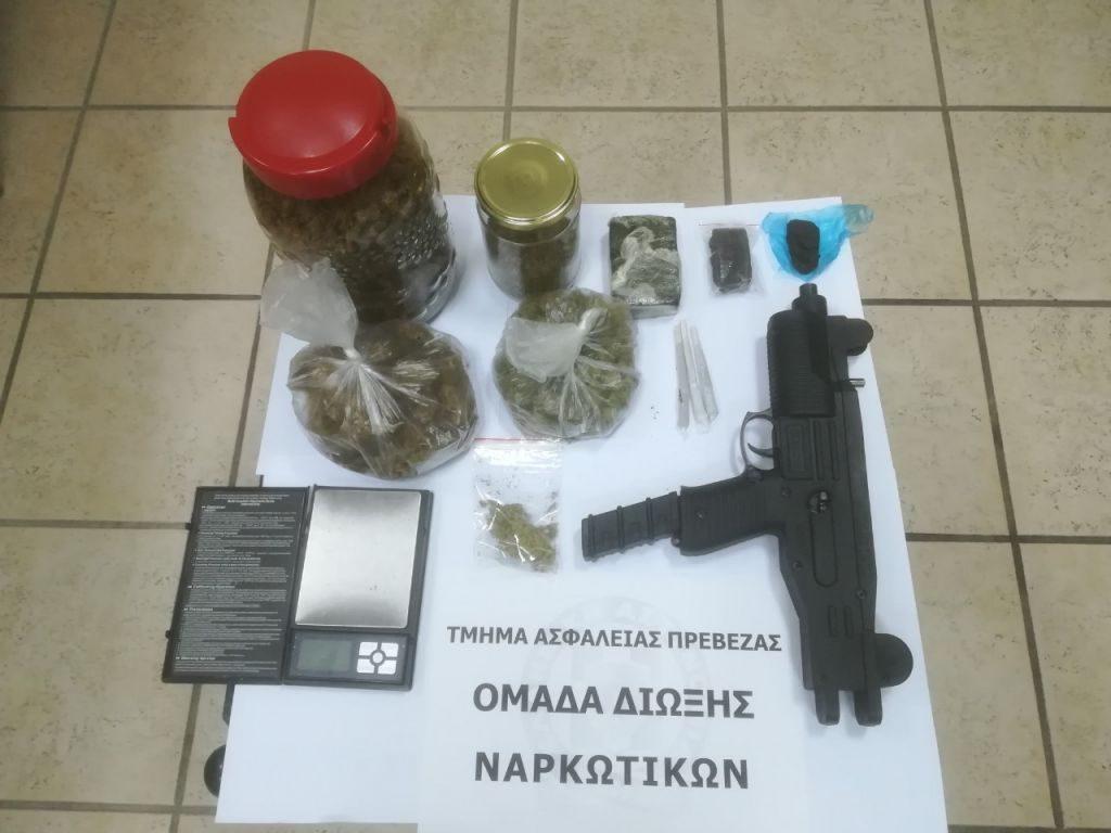 Πρέβεζα: Άλλο ένα πλήγμα στα κανάλια διακίνησης ναρκωτικών πέτυχαν αστυνομικοί του Τμήματος Ασφαλείας Πρέβεζας