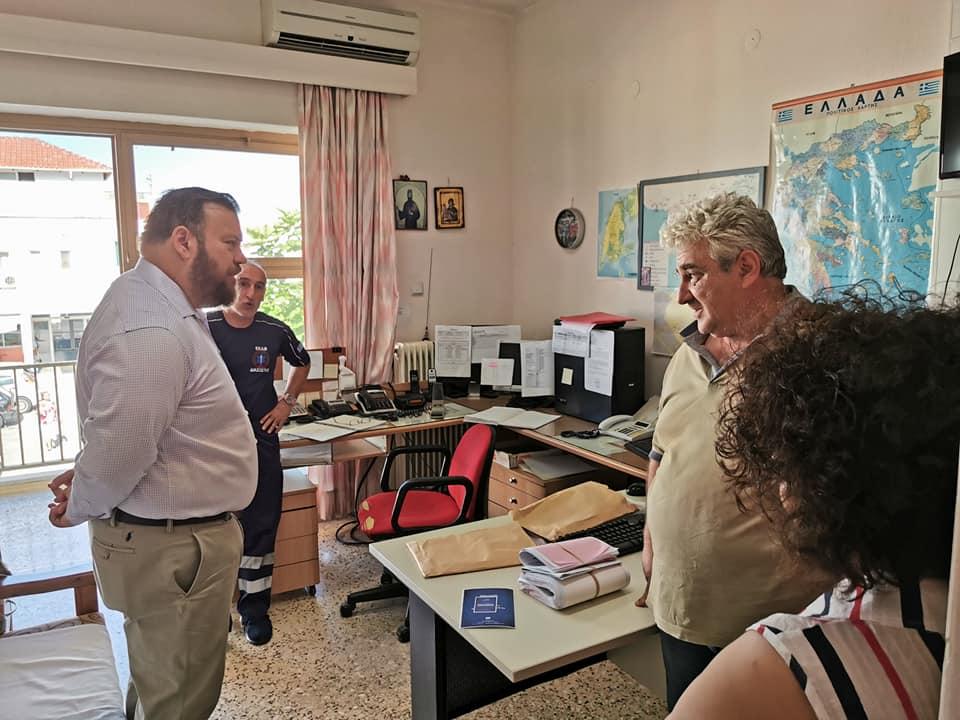 Τον Πολιτιστικός Σύλλογο «Πρέβεζα» , την ΑΕΝ και το Νοσοκομείο επισκέφθηκε ο Σπύρος Κυριάκης