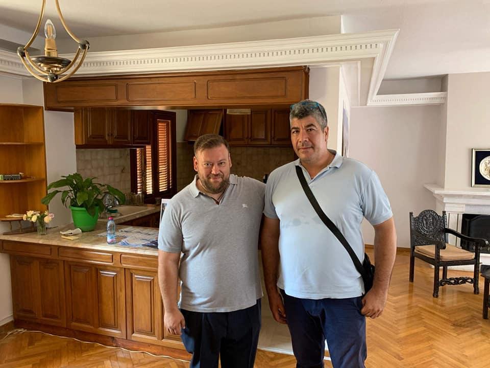 Πολιτικός Πολιτισμός από τον Σπύρο Κυριάκη – Επισκέφθηκε τα πολιτικά γραφεία όλων των συνυποψηφίων του