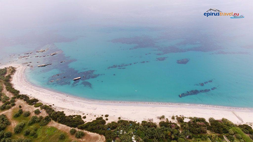 Λεύκα : Η άγνωστη αμμώδης παραλία  του νομού Πρεβέζης (ΒΙΝΤΕΟ)