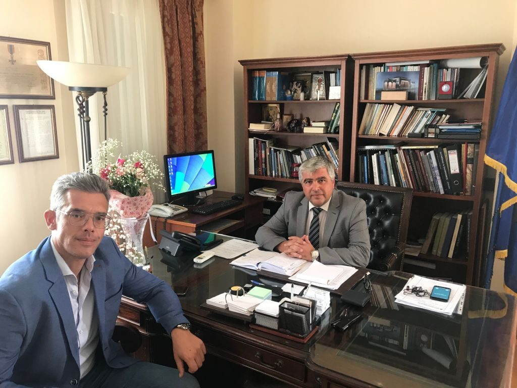 Πρέβεζα: Στο «τραπέζι» της συζήτησης έξι θέματα συνεργασίας Δήμου και Επιμελητηρίου Πρέβεζας