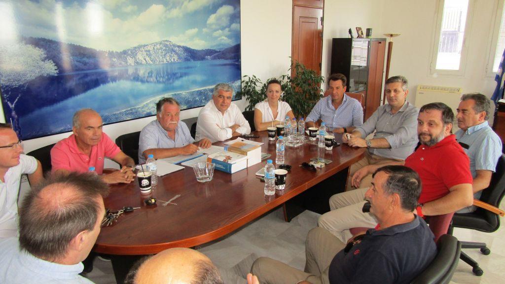 Πρέβεζα: Από κοινού πρωτοβουλίες για την επάρκεια νερού στους Νομούς Πρέβεζας, Άρτας και Λευκάδας