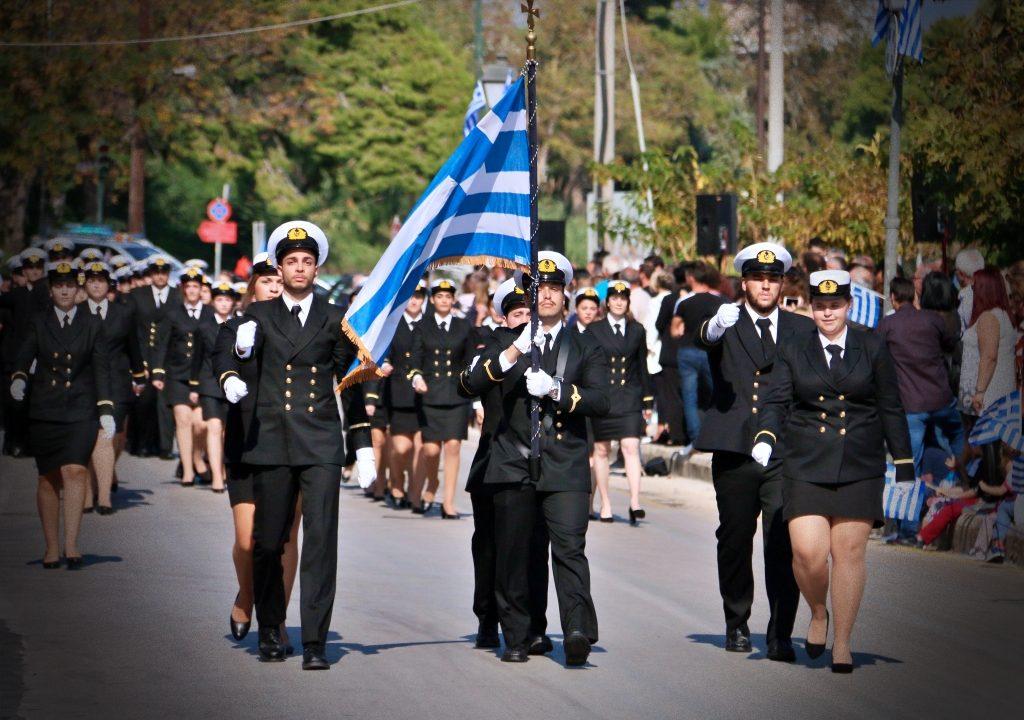 Πρέβεζα: Η Παρέλαση της 28ης Οκτωβρίου στην Πρέβεζα (Εικόνες)