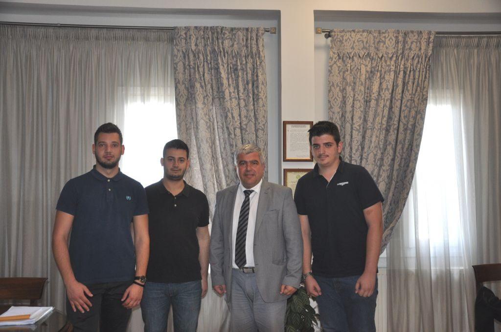 Πτρέβεζα: Με σπουδαστές της Πρέβεζας συναντήθηκε ο Δήμαρχος