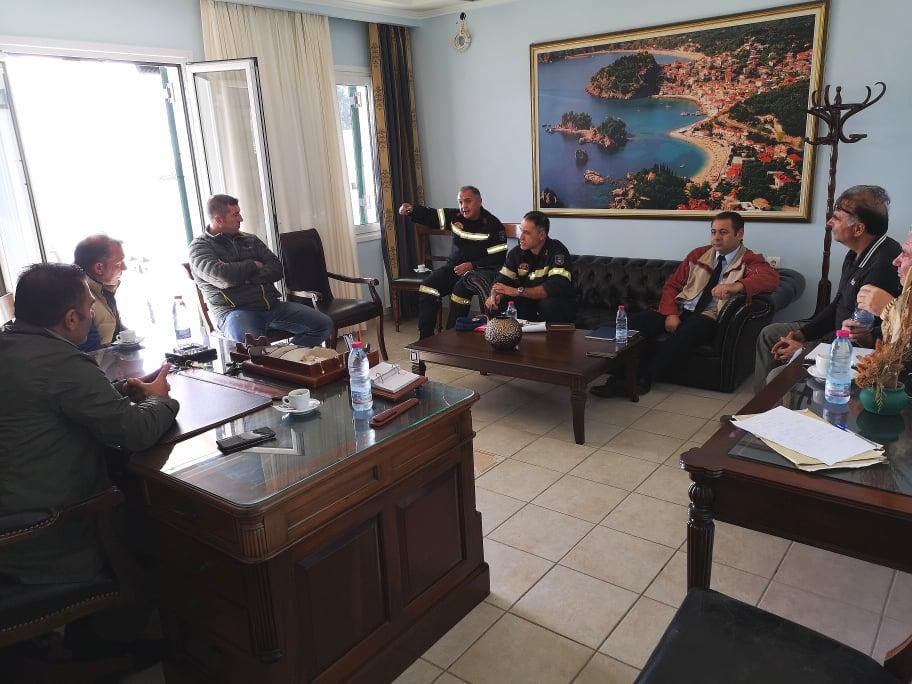 Πρέβεζα: Σύσκεψη για την αντιμετώπιση της έκτακτης κατάστασης που διαμορφώθηκε στον Δήμο Πάργας μετά την έντονη κακοκαιρία