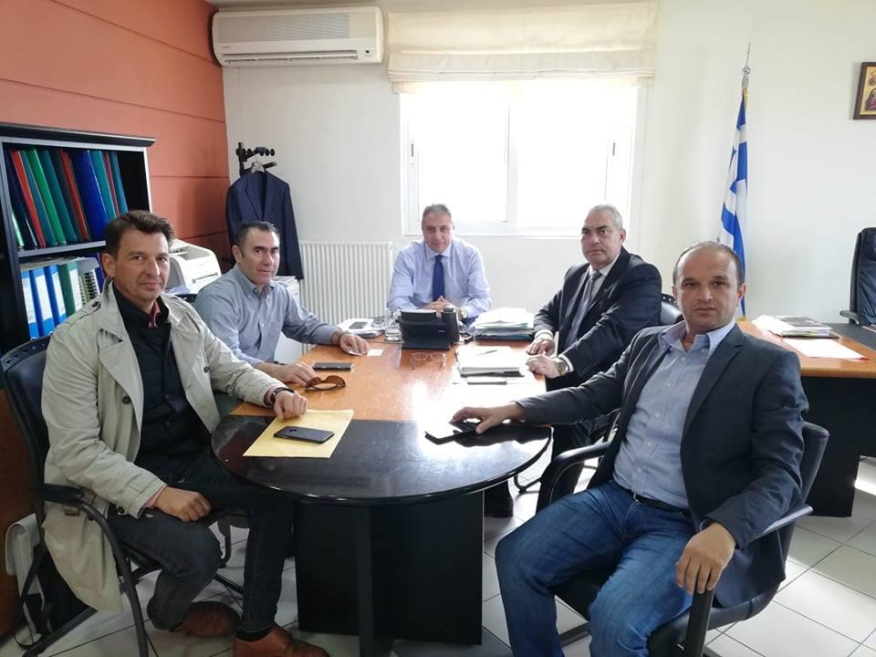 Πρέβεζα: Συνάντηση με τον διοικητή της 6ης ΥΠΕ για τα κέντρα υγείας του Νομού Πρέβεζας