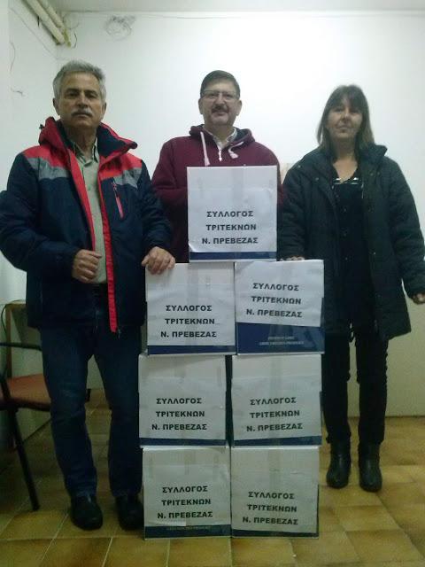 Πρέβεζα: Αποστολή ανθρωπιστικής βοήθειας στην Αλβανία από το Σύλλογο Τριτέκνων Ν. Πρέβεζας