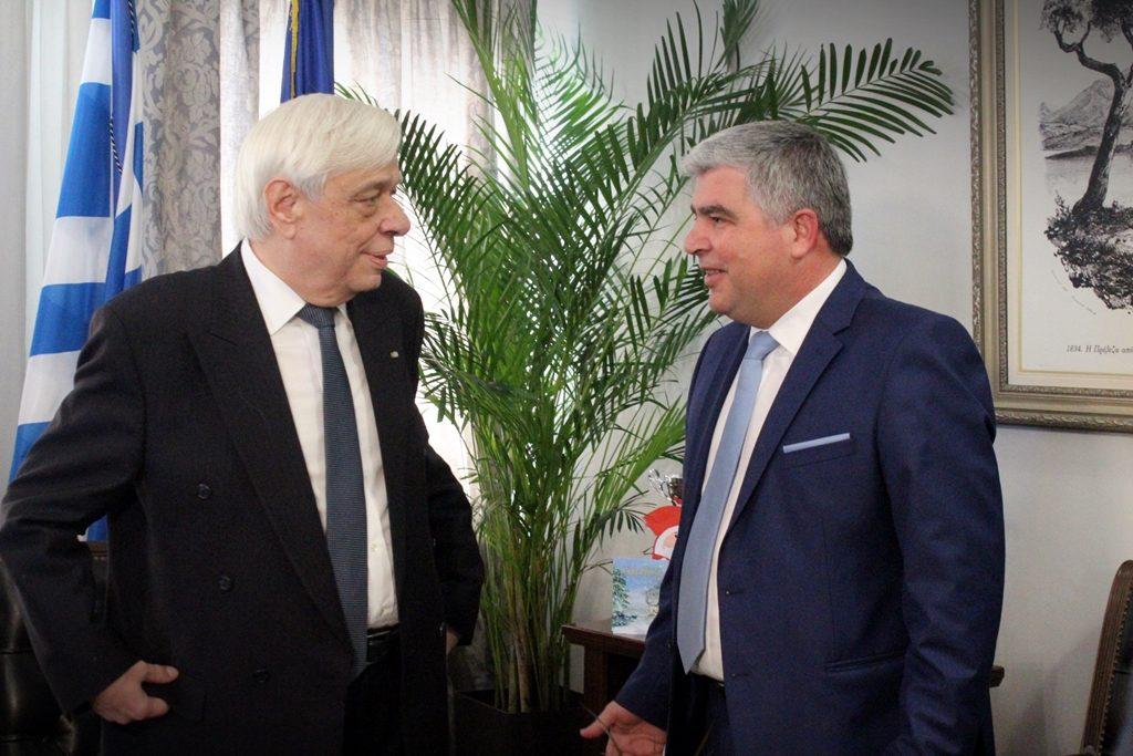 Πρέβεζα: Πρόεδρος της Δημοκρατίας - «Η Νικόπολη αξίζει να καταστεί το επίκεντρο του διεθνούς διαλογισμού»