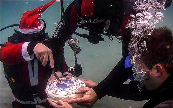 Πρέβεζα: Μέσα στη θάλασσα έκοψε την βασιλόπιτα της η Λ.Ε.Κ Ν.Πρέβεζας
