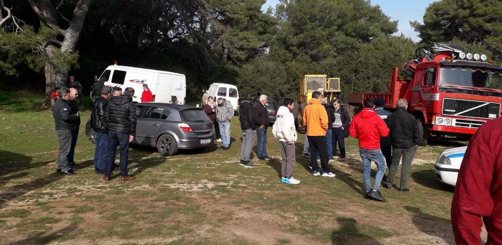 Ξεσηκώθηκαν οι κάτοικοι της Βαλανιδόραχης – Ιδιώτες κόβουν δένδρα στο Αλωνάκι της Πάργας