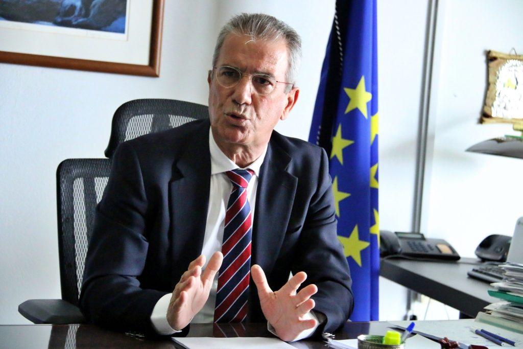 Στράτος Ιωάννου: «Συνεχώς ξεκινούμε νέα έργα για την βελτίωση των υποδομών, της οδικής ασφάλειας και συνδράμουμε με όλα τα μέσα.»