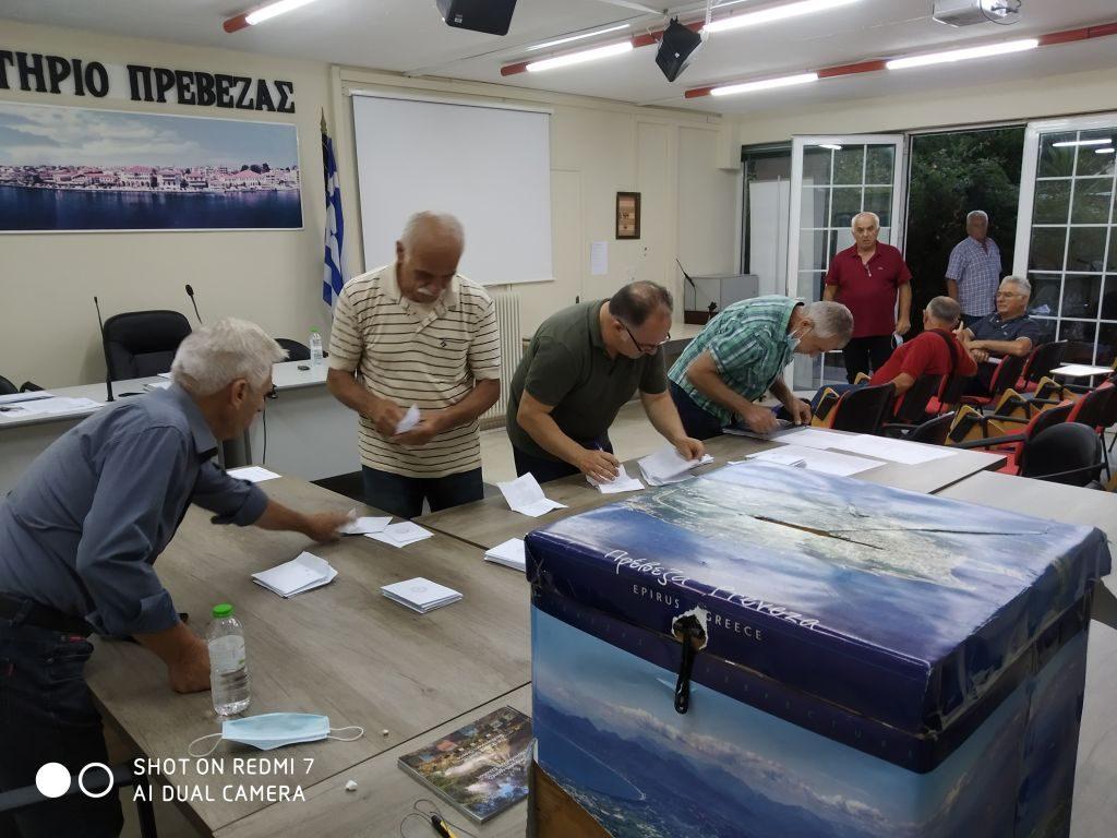 Πρέβεζα: Το νέο διοικητικό συμβούλιο του σωματίου συνταξιούχων ΟΑΕΕ Πρέβεζας