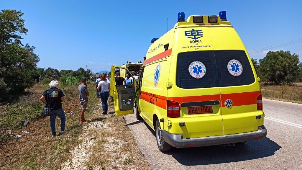 Πρέβεζα: Σοβαρό τροχαίο στην Πρέβεζα – Εκσφενδονίστηκε από το όχημα ο ένας οδηγός
