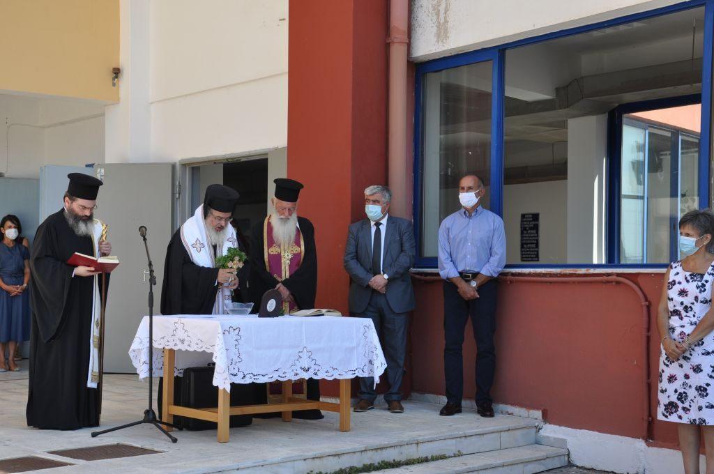 Πρέβεζα: Αγιασμός στα σχολεία της Πρέβεζας – Το μήνυμα του Δημάρχου