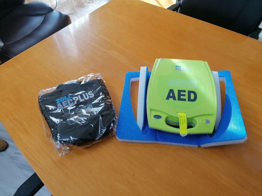 Επεκτείνεται το δίκτυο απινιδωτών AED του Δήμου Πάργας