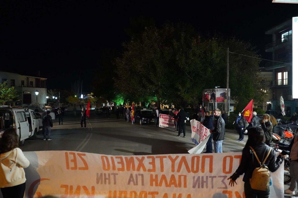 ΠΡΕΒΕΖΑ : Με υποδειγματική τήρηση όλων των μέτρων το ΚΚΕ πραγματοποίησε συγκέντρωση για το Πολυτεχνείο
