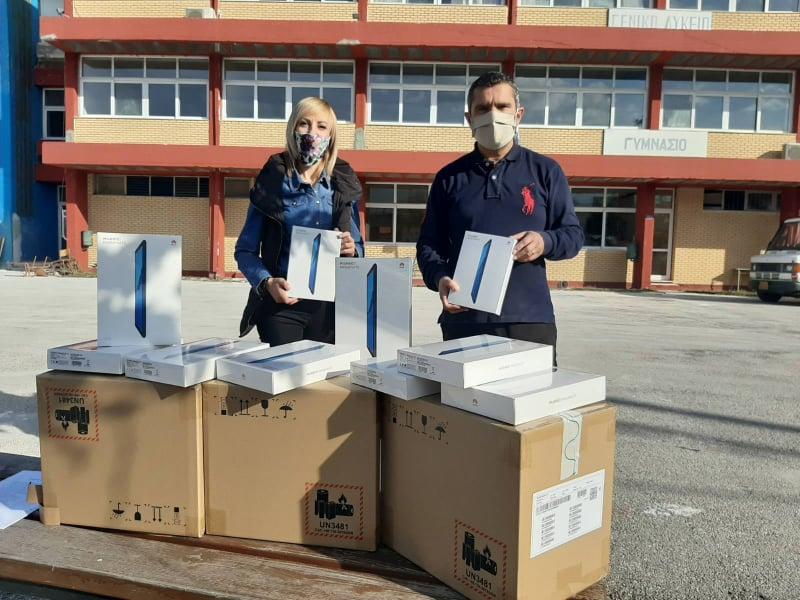 Tablets για την τηλεκπαίδευση προμηθεύτηκε ο Δήμος Πάργας