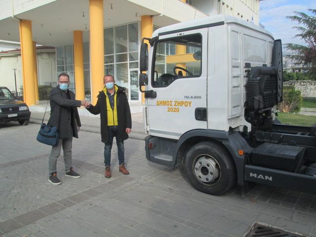 Με φορτηγό αντιρυπαντικής τεχνολογίας ενισχύθηκε ο στόλος οχημάτων του Δήμου Ζηρού