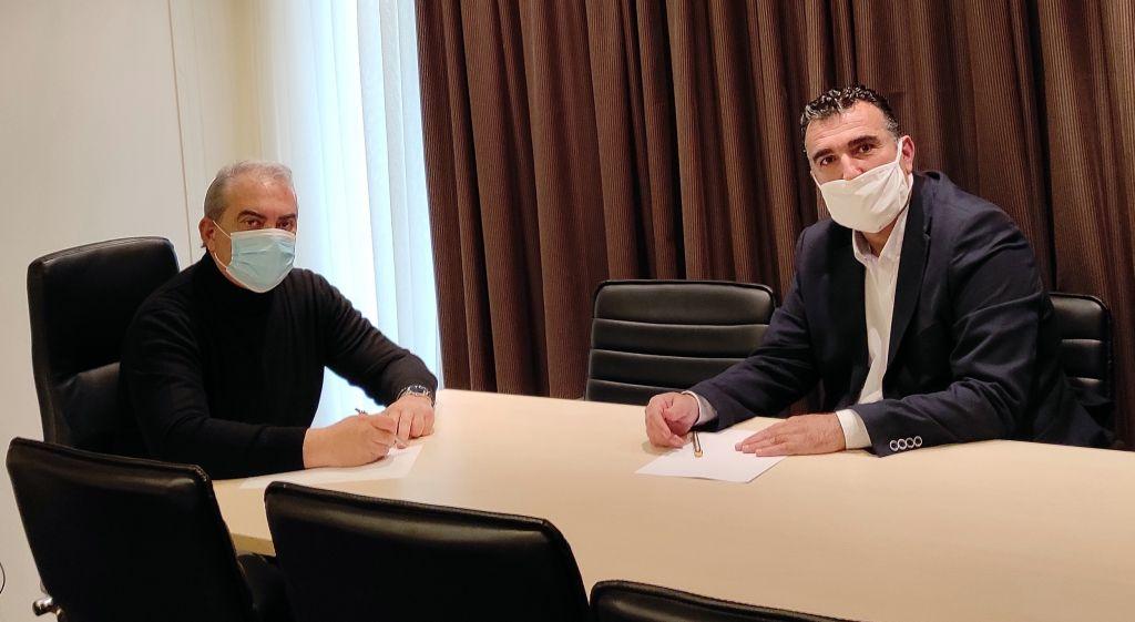 """Με τον Στέργιο Γιαννάκη συναντήθηκε αντιπροσωπεία της παράταξης του Γιώργου Νίτσα """"Ανάπτυξη Τώρα"""""""
