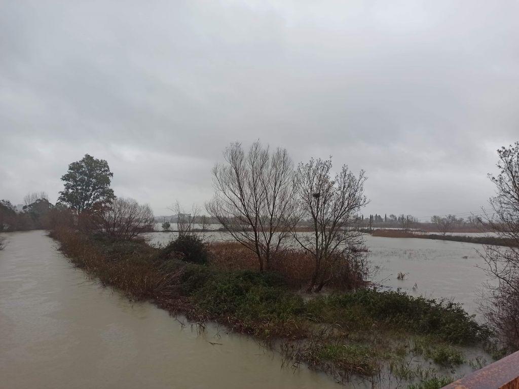 Μεγάλος κίνδυνος για σοβαρά πλημμυρικά φαινόμενα στη Πέτρα