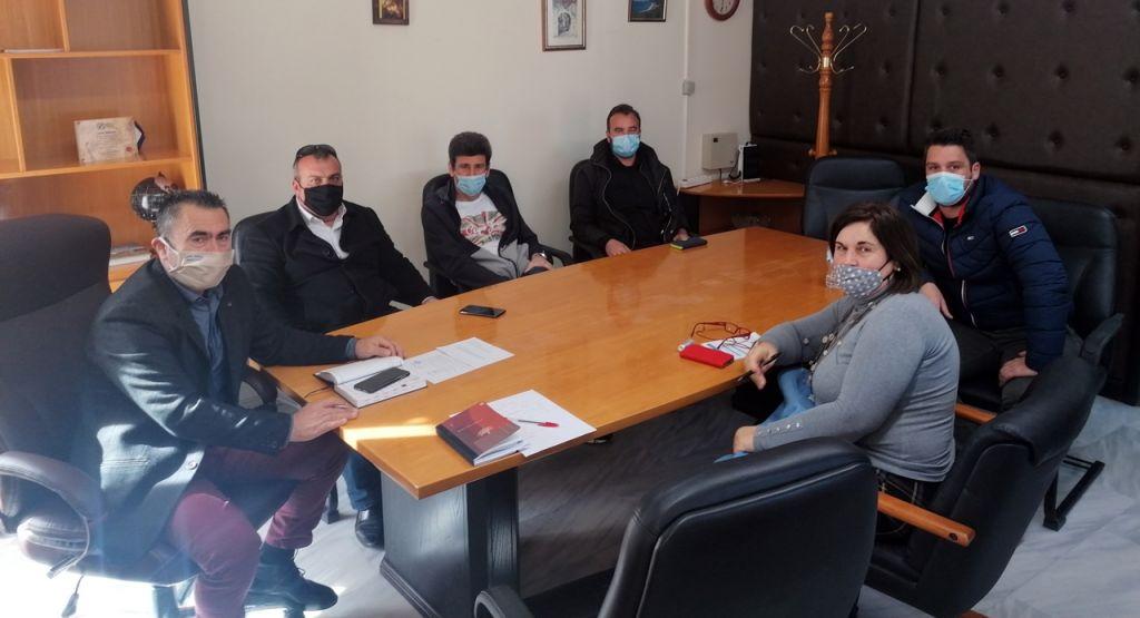 Συνάντηση Δημάρχου Πάργας με την Νέα Ένωση Ξενοδόχων Πρέβεζας