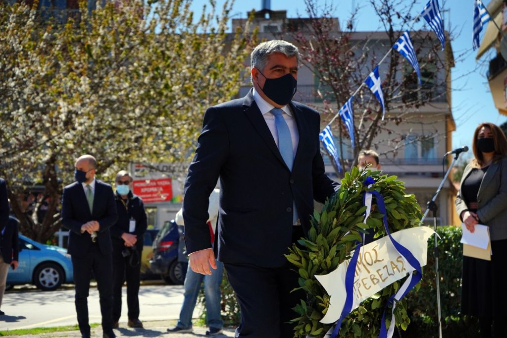 Επετειακό μήνυμα του Δημάρχου Πρέβεζας για τα 200 χρόνια από την Ελληνική Επανάσταση