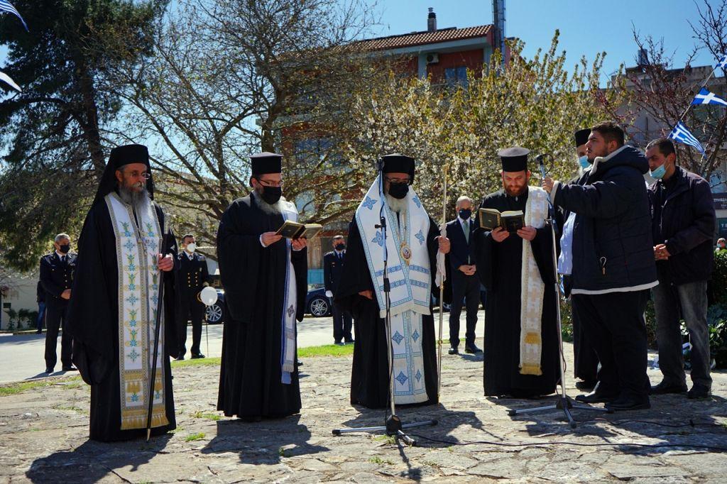 Η Πρέβεζα γιόρτασε την Εθνική Επέτειο της 25ης Μαρτίου