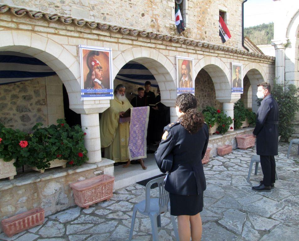 Με υψηλό φρόνημα γιορτάστηκε η επέτειος της 25ης Μαρτίου στον Δήμο Ζηρού