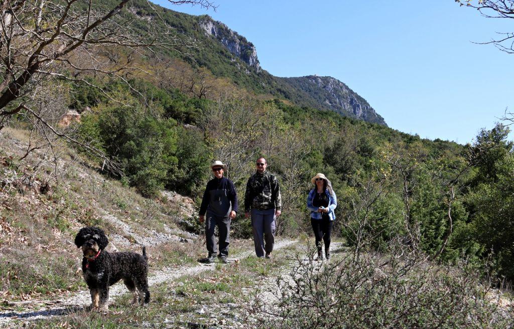 Πρέβεζα : Περπατώντας στα βουνά που οι κάτοικοι λένε ΟΧΙ στις ανεμογεννήτριες