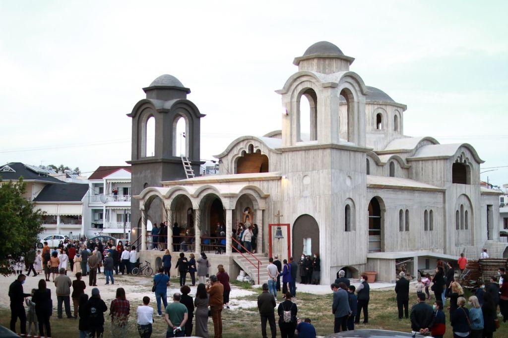 Πρέβεζα : Μορφή απέκτησε ο Ιερός Ναός του Αγίου Νεκταρίου